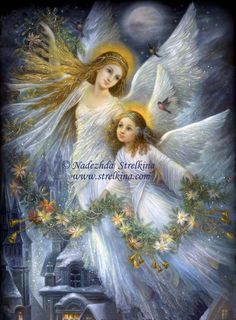 fantasy angels and fairies | fairy angel traditional art paintings fantasy 2009 2013 fantasy fairy ...