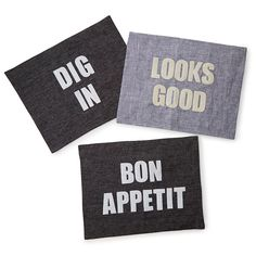 Appetizing Phrase Placemats 1