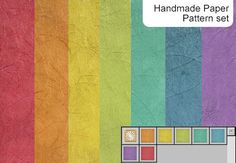 Handmade Paper Pattern - Photoshop Patterns | BrushLovers.com