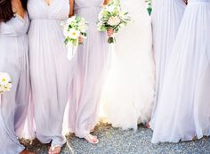 lilac bridesmaids dresses.
