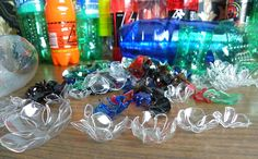 How to make plastic bottle jewelry