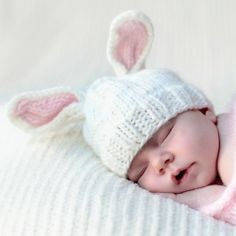 Bailey Pink Bunny Hat available at @Layla Grayce #laylagrayce #holidays #easter