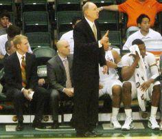 Coach L on sideline