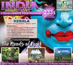 Satguru Indonesia - Travel Management Company, 7 : Hello travelers, ayo bergabung bersama kami dalam paket tour Kerala di India berpetualang dengan mengunjungi beberapa lokasi wisata menarik dan indah selama 5 malam dengan harga terjangkau dan nyaman. Ikuti kesempatan terbatas ini. 👉Hubungi kami dan pesan sekarang juga! *harga sewaktu-waktu bisa berubah. -------------------------- 💳Dapatkan diskon dan promo khusus lainnya di bulan ini. -------------------------- 🏠Hubungi kami atau…