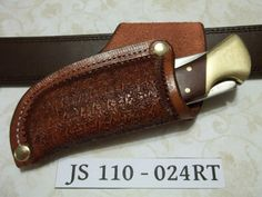 Custom leather knife Sheath  JS110024RT by JSLeatherworks on Etsy, $17.00