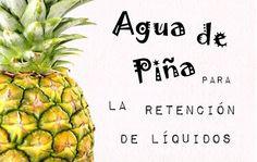 Agua de Piña para la retención de líquidos   Sentirse bien es facilisimo.com