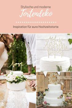 Cake Topper und Tortendeko für eure Hochzeit von van harte <3 Lace Wedding, Wedding Dresses, Inspiration, Party, Fashion, Wedding Dress Lace, Wedding Cakes, Dekoration, Kids