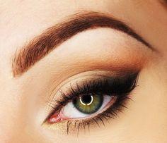 Subtle Smokey brown eye makeup
