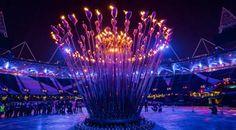 2012年のオリンピックの聖火台、通称「大釜」もトーマス・ヘザウィックの作品だ