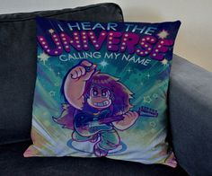 steven universe i hear universe tv animation series pillow