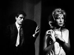 L'ECLISSE directed by MICHELANGELO ANTONIONI. Italy 1962