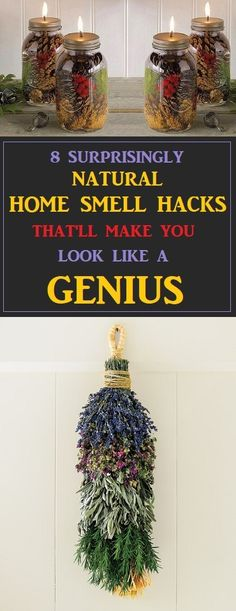 Genius Ways To Make Your Home Smell Amazing Naturally #cleaning #smellhacks #cleaningtips #cleaninghacks