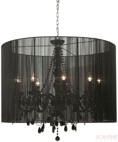 Pendant Lamp Gioiello Surprise Black 92