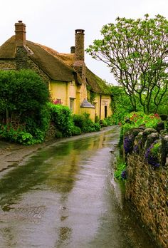 England - got to love the villages in England!