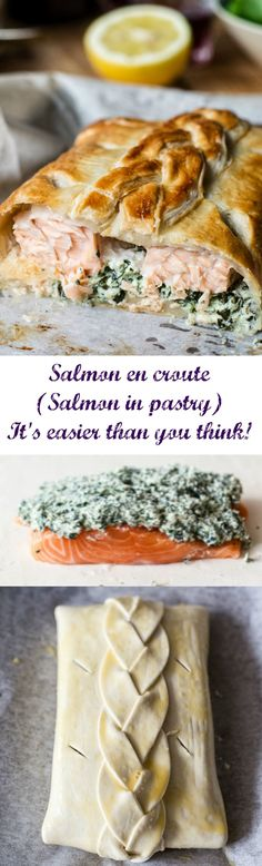 Slow Cooker: Salmon en croute (Salmon in pastry) - Vikalinka