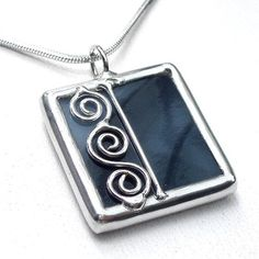 stained glass pendant   Flickr - Photo Sharing!