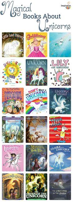 magical children's books about unicorns #kids