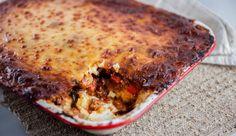 Polenta Lasagne | Good Chef Bad Chef Polenta Recipes, Chef Recipes, Pork Recipes, Italian Recipes, Cooking Recipes, Yummy Recipes, Pork Mince, Italian Cookies, Lasagna
