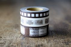 Camera Motif Japanese Washi Tape 3 Roll Set
