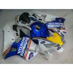 Honda CBR 600RR F5 2003-2004 Injection ABS Fairing - Rothmans - Blue/White | $639.00