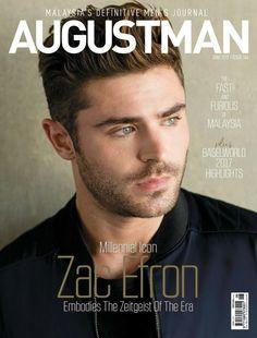 New magazine, Zac Efron Augustman 2017! ❤️