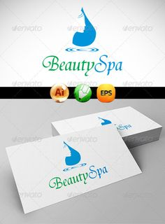 Beauty Spa Logo Templates — Vector EPS #salon #girl • Available here → https://graphicriver.net/item/beauty-spa-logo-templates/3258138?ref=pxcr