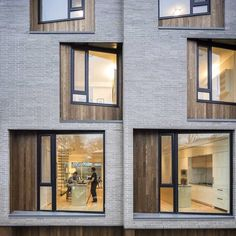 Add a bit of play and warmth to the cladding design. Simple and stylish townhouse complex in Toronto with Thermory Ash cladding. Photo by Doublespace Photography. Thank you: @thermoryusa Architects: @batay_csorba_architects @turnerfleischer  #architecture #styleinspiration #facade #residential #wooddesign #hardwood #thermory #thermoryusa #thermowood #termopuit #exteriordesign #canadianarchitecture #coremodernhomes
