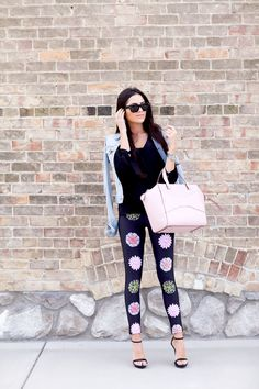 Obsessed with these tights...this whole outfit really!