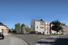 Quatre Architecture - Construction de 6 logements sociaux durables