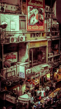 ITAP of a visually overwhelming Bangkok street via /r/itookapicture by british_boondog