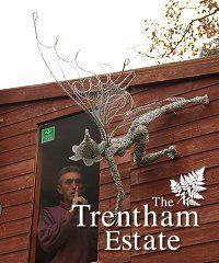 wire fairy #sculpture for your #garden by Fantasy Fairy UK http://www.mervedinger.com