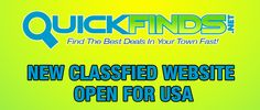 Post free ads In USA http://quickfinds.net