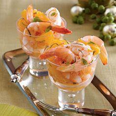 Southern-Style Shrimp Recipes | Shrimp and Citrus Cocktail Recipe | SouthernLiving.com