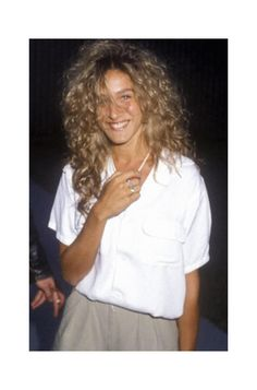 Style Edit: Throw Back Sarah Jessica Parker | We love a good style icon, and no one does us better than Footloose-era SJP. See more on The Blog.