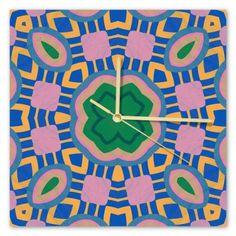 Clock Samba, Sunday, Clock, Retro, Wall, Home Decor, Watch, Domingo, Decoration Home
