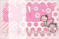 Baby Girl Card - 4x6 size