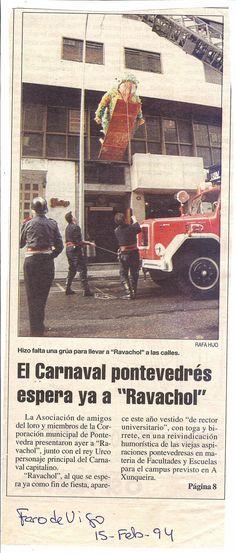 BAJADA DE RAVACHOOL POR LOS BOMBEROS , RAVACHOL RECTOR
