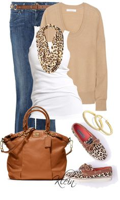 """Sperry's"" by stacy-klein on Polyvore"