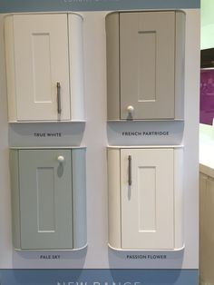 Beautiful Kitchen From Wren In Ermine Pale Sky Door