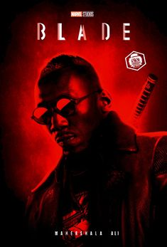 Mahershala Ali Blade Poster by Bryanzap on DeviantArt Marvel Comic Universe, Marvel Comic Books, Comics Universe, Marvel Movies, Marvel Cinematic Universe, Comic Books Art, Comic Art, Marvel Live, Marvel Dc