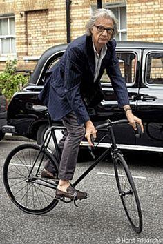 Paul Smith rides a Mercian track bike © Horst Friedrichs