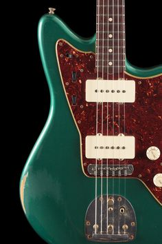 Fender Custom Shop | 1962 Jazzmaster | Sherwood Green Metallic