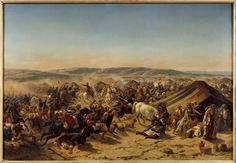 Prise de la Smala d'Abd-el-Kader le 16 mai 1843