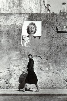 Agnes Varda, Sophia Loren em Portugal, Povoa de Varzim, 1956.