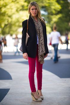 In love with her street style!