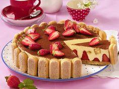 Erdbeertiramisu-Torte