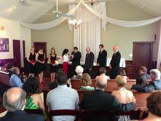 Eric + Nancy   Absolutely Fitting   Suit   Tuxedo   Orlando, FL   Groom   Bride   Groomsmen
