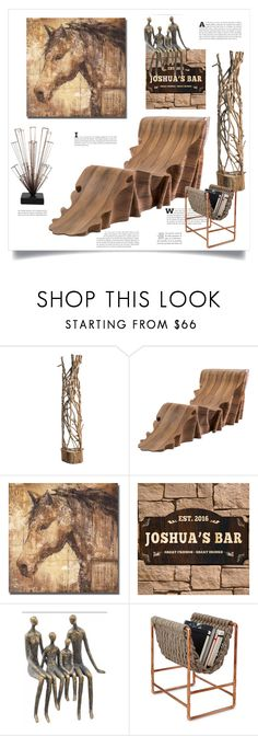 """""""Natural material design"""" by ildiko-olsa ❤ liked on Polyvore featuring interior, interiors, interior design, home, home decor, interior decorating, Altea, SecondoMe and Paul Frank"""