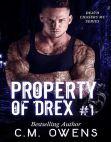 Read Online Property of Drex (Book 1).