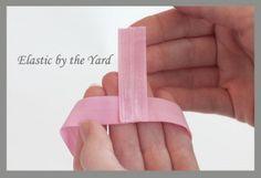 How to Make Fold Over Elastic Headbands
